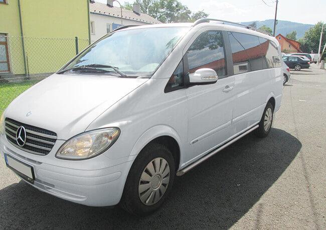 AutoPůjčovna dodávek Ostrava Mercedes Viano - dodávka