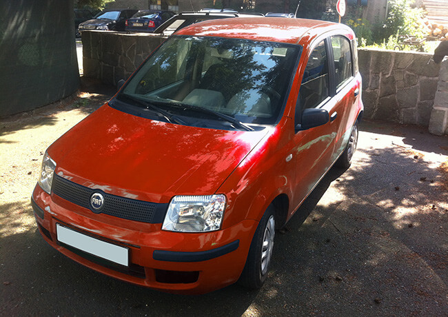 automobil Fiat Panda